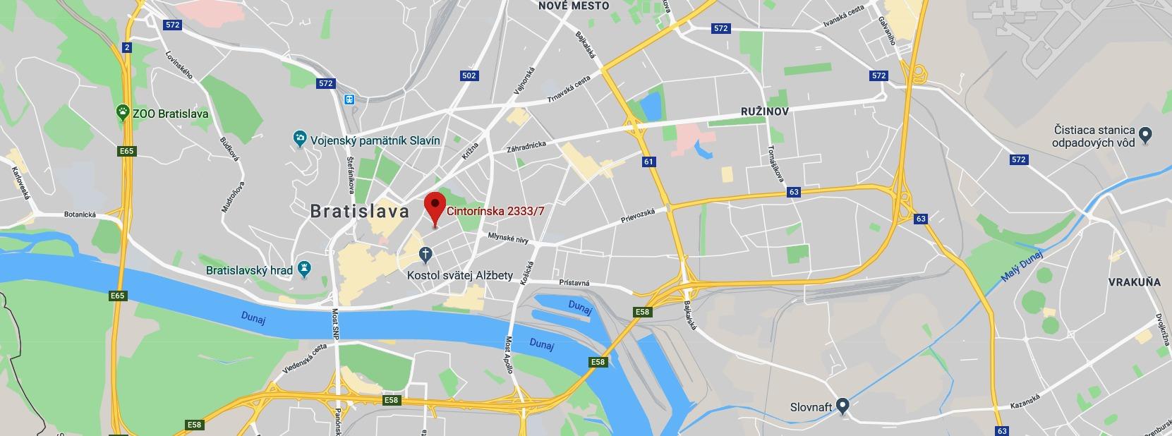 Slovak Trade map
